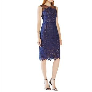 BCBG MAXAZRIA | Belila Navy Dress